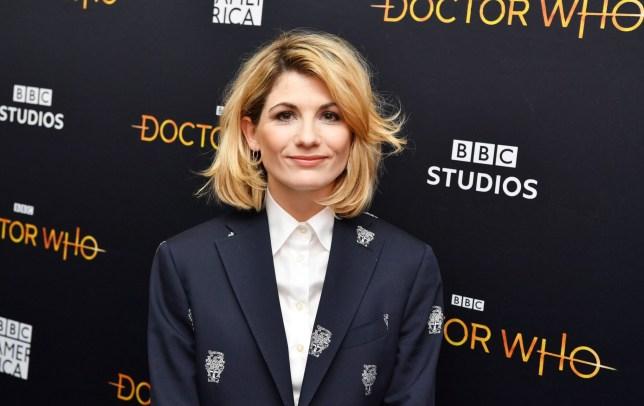 Mandatory Credit: Photo by Stephen Lovekin/REX (10518053s) Jodie Whittaker 'Doctor Who' TV show season premiere, Arrivals, New York, USA - 05 Jan 2020
