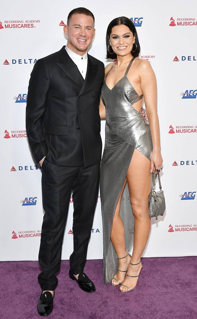 Channing Tatum, Jessie J, 2020 MusiCares Person of the Year