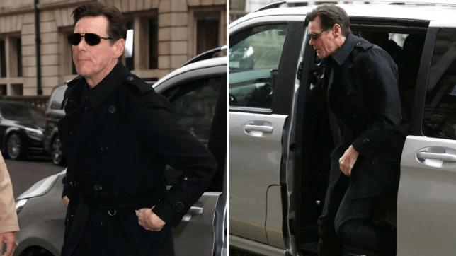 Jim Carrey in London
