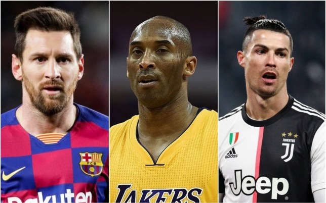 Lionel Messi and Cristiano Ronaldo have posted their tributes to Kobe Bryant