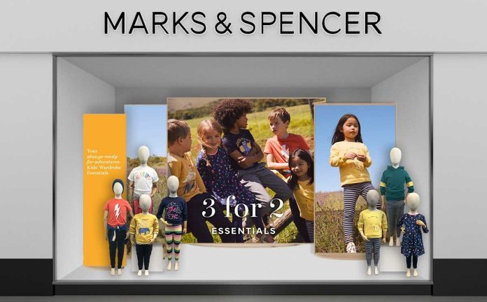 Marks & Spencer kidswear to shift focus to casual 'everyday style'