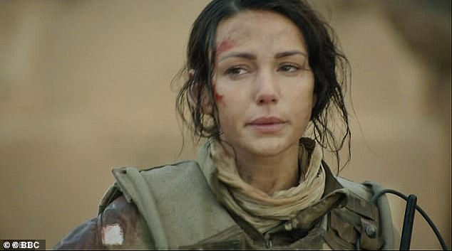 Moving on:Michelle Keegan, 32, has announced she is leaving BBC 1 drama Our Girl after four years.The 32-year-old actress played British army medic Georgie Lane on the show
