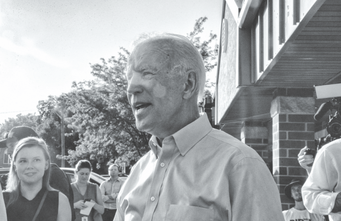 Former+Vice+President+and+2020+democratic+candidate+Joe+Biden+greets+attendees+following+his+speech+at+the+opening+of+his+campaign+office+on+S.+Gilbert+St.+on+Wednesday%2C+August+7%2C+2019.+