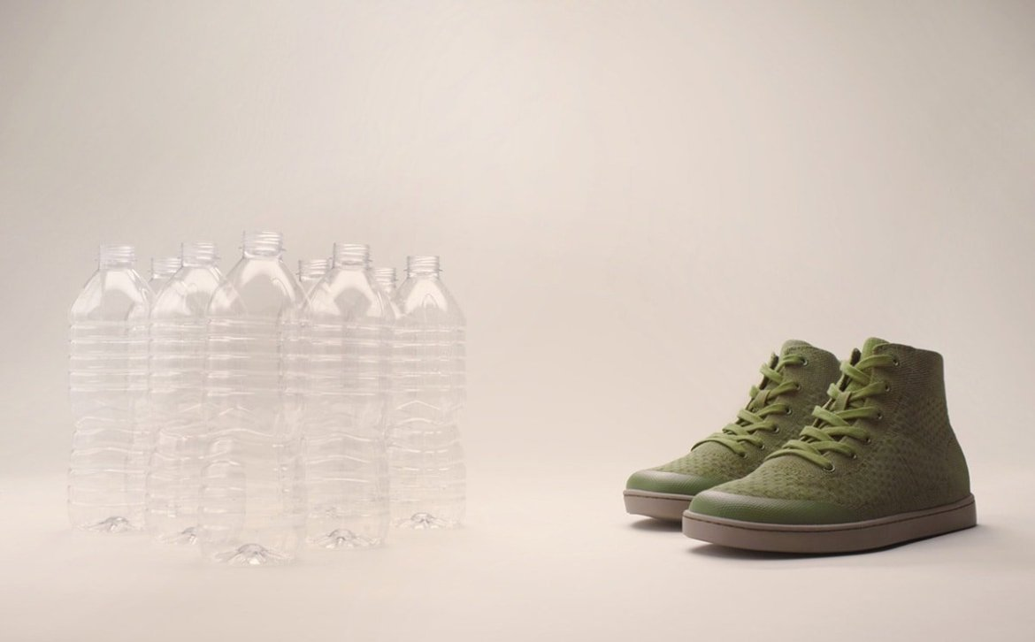 Suavs launches 100 percent recycled knitwear sneaker