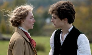 Saoirse Ronan and Timothée Chalamet in Greta Gerwig's Little Women.
