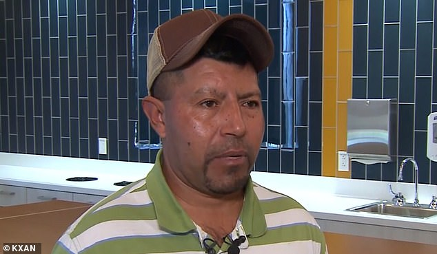 Gerardo said the pain was so bad it sometimes made him vomit or faint