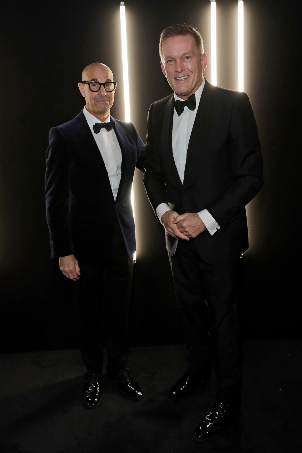 Stanley Tucci and CEO of Dunhill Andrew Maag