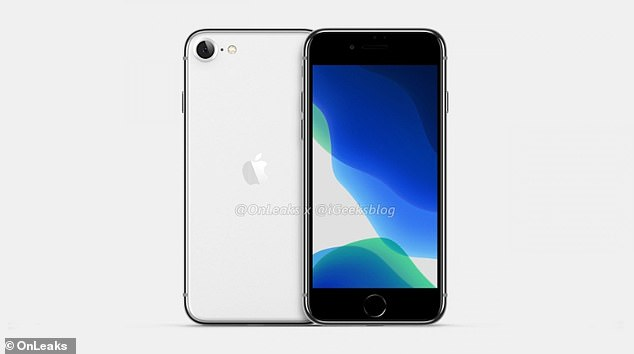 Myriad leaks and reports are claiming the so-called SE2 (pictured) will help Apple target customers at the lower end of the smartphone market.It is thought to be similar to the iPhone 8, which can still be purchased new for $499. When Apple released the SE in 2017, it cost $399