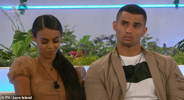 New pair:Later he let his feelings about the situation become apparent as he appeared to make a dig at the new couple