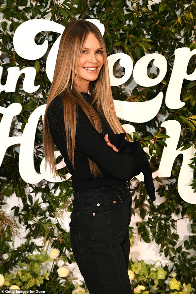 She gives good face: Seen in March.'I've learned that a good smile, good teeth, good hair, good skin, a good mood are worth a thousand injectables and Botox and facials and masks,' she said