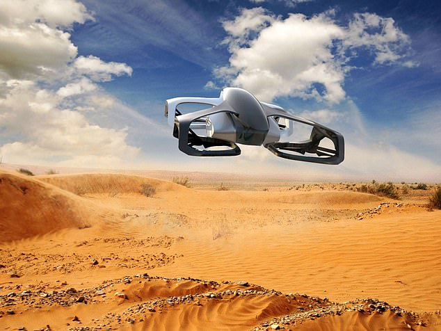 SkyDrive says its proposed new vehicle will be 'the world's smallest flying car'