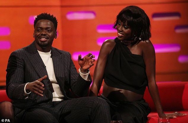 Making a statement: Jodie looked incredible as she joined her Queen & Slim co-starDaniel Kaluuya on the show to discuss their upcoming movie