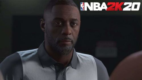 Idris Elba featured in NBA 2K20's career mode