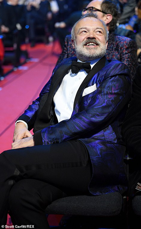 Starry starry night: Graham Norton was nominated but failed to win