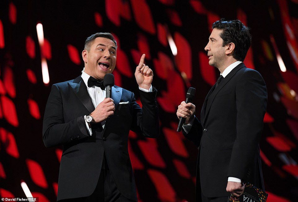 David vs David: Friends star David Schwimmer enjoyed a snipe back-and-forth with Walliams over which of them was the 'funniest David on TV'