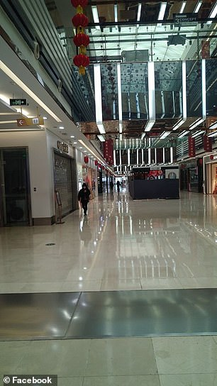 Public places like malls are now deserted