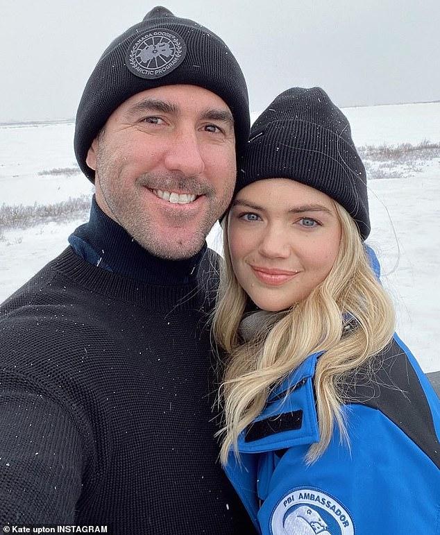 Parents: Upton welcomed her daughter with husband, Houston Astros pitcher Justin Verlander, 36,whom she married in November 2017