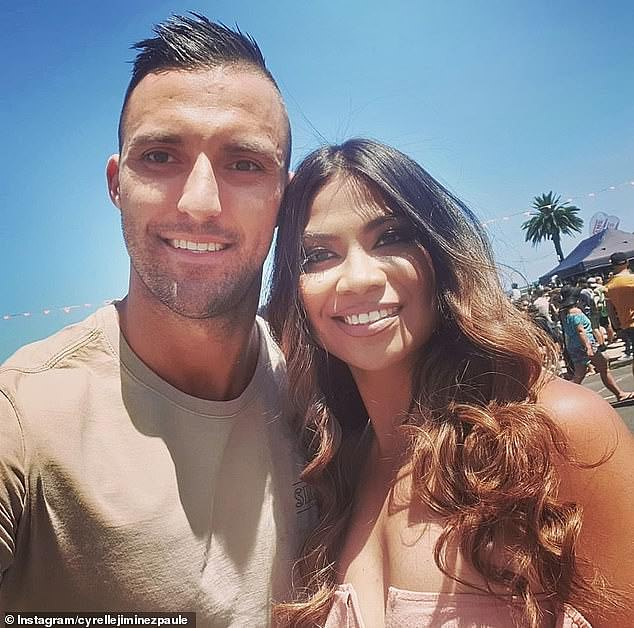 Over! Nic was paired with Cyrell Paule (right) on MAFS, but their relationship was tumultuous and they split before the final vows
