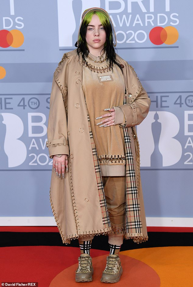 Here she comes:Some arrivals are worth waiting for, and Billie Eilish fans didn't have to wait long for a glimpse of the American star as she made an early entrance at the 2020 BRIT Awards