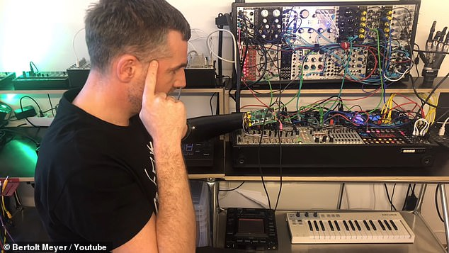 With the help of engineers, Meyer designed the the SynLimb - a custom circuit board that attaches to the prosthetic and reads his muscle signals to tweak the synthesizer knobs