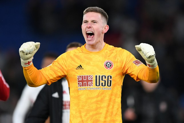 Dean Henderson is targeting Manchester United's No.1 role
