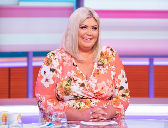 Editorial use only Mandatory Credit: Photo by Ken McKay/ITV/REX (10183602ae) Gemma Collins 'Good Morning Britain' TV show, London, UK - 01 Apr 2019 Desk: Gemma Collins The GC is about to go global! She talks about those wedding rumours and plans to go Stateside, before delivering the Entertainment news?