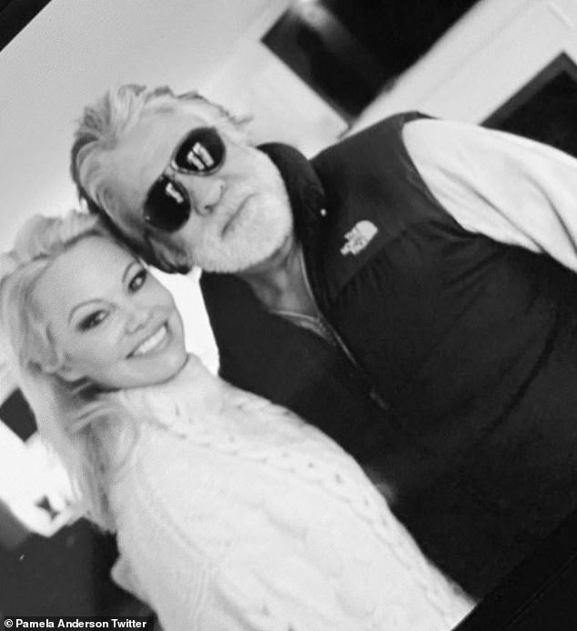 It's over:Pamela Anderson 12-day long marriage to Jon Peters was called off by the producer over text message