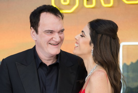 Quentin Tarantino and wife