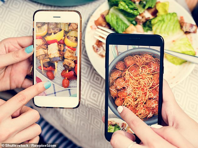 Social media makes you eat the same as your friends: People eat more fruit and veg 'if they think their peers on Facebook or Instagram are doing the same'