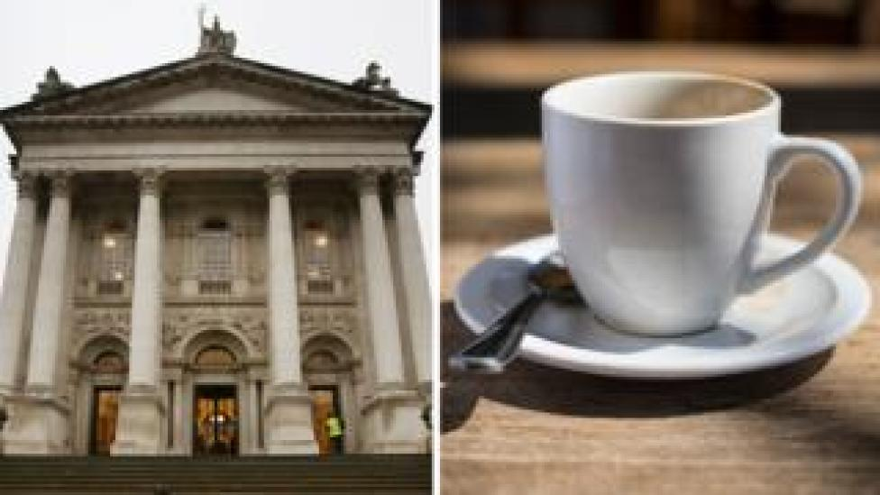Tate Britain and a cup of coffee