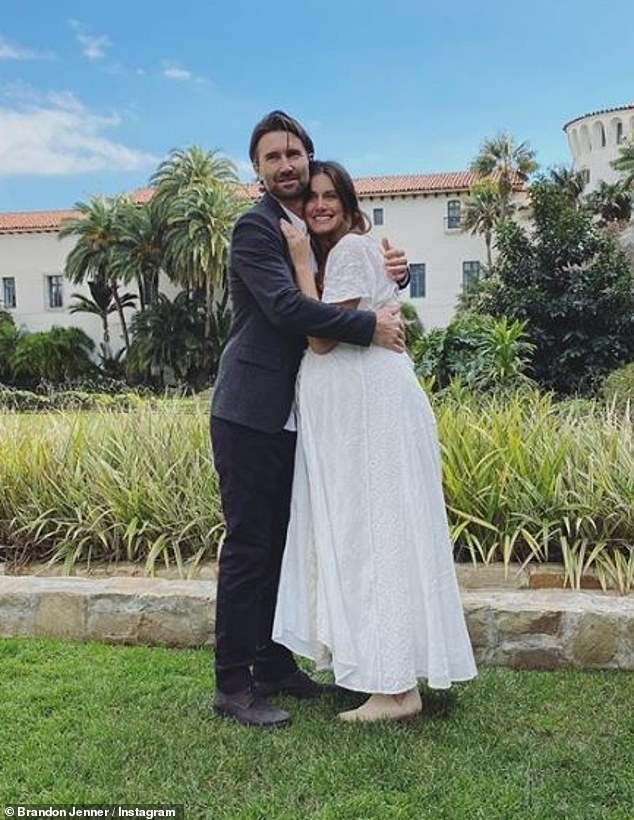 Hitched! Jenner and Stoker announced they were expecting twins in August 2019 and were married in a courthouse ceremony in Santa Barbara in January