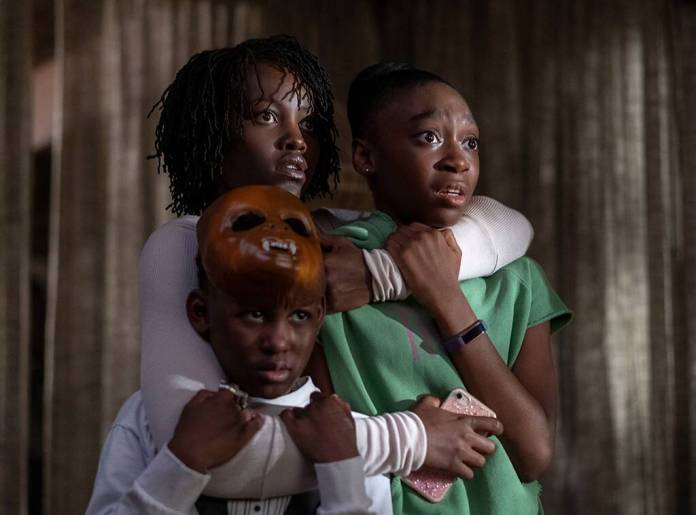 Jordan Peele, US, Lupita Nyong'o