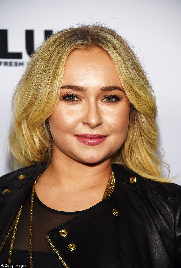 Out and about: Panettiere was snapped last year in Hollywood