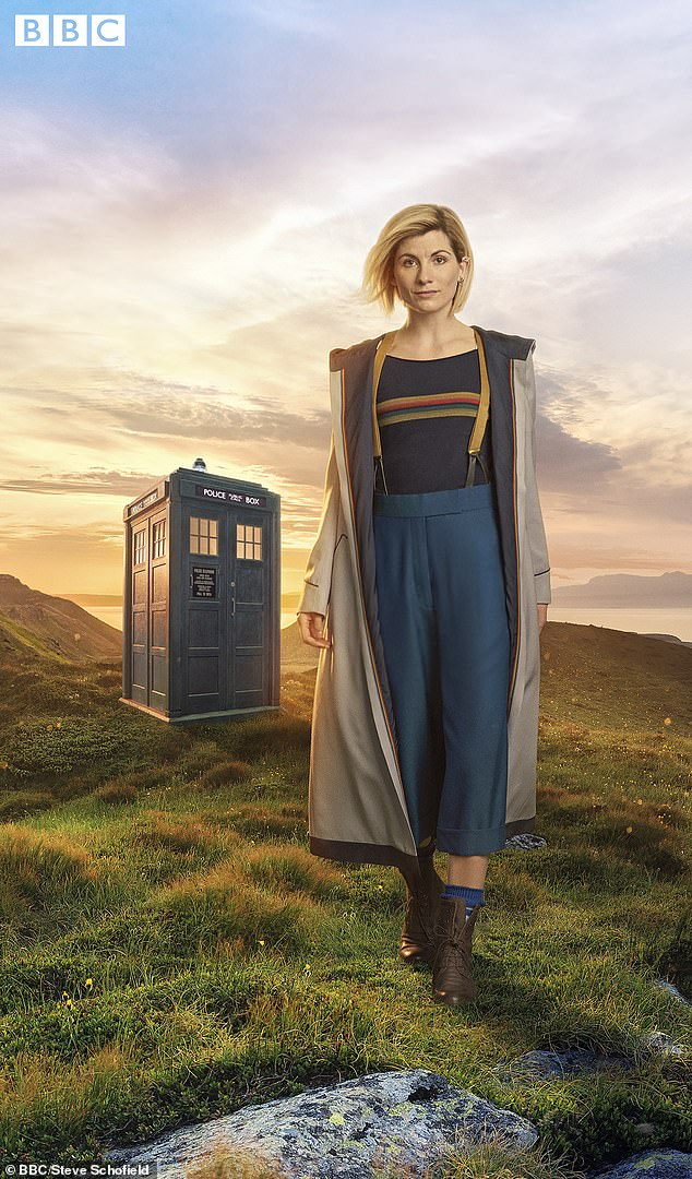 Admission:Whittaker, 37, who plays the thirteenth incarnation of the Time Lord, explained: 'It's so intimidating when the other actor knows all their lines, but there's meant to be room for playing and having fun'