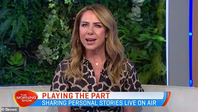 Candid: 'I guess in some ways it is daunting,' Kate told hosts Kylie Gillies and Larry Emdur, while reflecting on motherhood