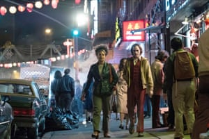 Fantasies of female attention … Zazie Beetz and Joaquin Phoenix in Joker.