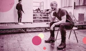 James McAvoy as Cyrano de Bergerac.
