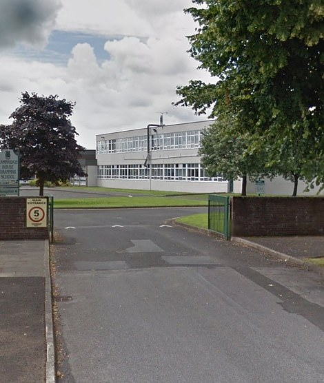 Cambridge House Grammar School in County Antrim said it had taken advice from public health chiefs to send around 50 pupils and staff home