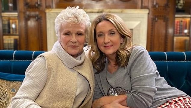 Speaking out: She told the BBC 's Victoria Derbyshire she was diagnosed just 18 months ago after two primary tumours were discovered in her large intestine