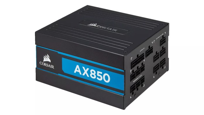 This 80 PLUS Titanium certified PSU is very powerful, and more importantly, modular.