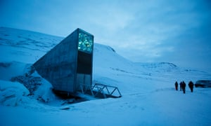 The Svalbard Global Seed Vault outside Longyearbyen on Svalbard, Norway, has the capacity to hold 4.5m crop varieties.
