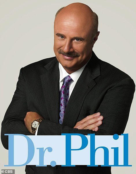 Hit show: Dr. Phil has chalked up more than 3000 episodes of his daytime program and he has signed a deal with CBS to continue to the show until 2023