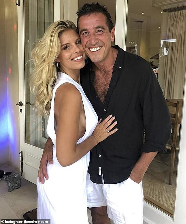 Different lifestyles: Natasha confirmed their split in November, telling The Daily Telegraph:'We broke up, [but] we're still really good friends.'I do travel a lot and have a very different lifestyle. We had an amazing relationship but these things happen in life'