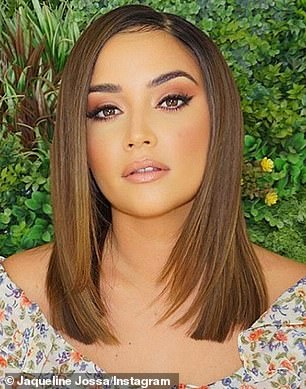 'Kylie vibes': One day earlier, she revealed her chopped locks while on a trip to Marbella, Spain, to shoot her new In The Style collection