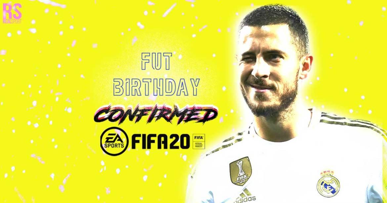 FUT BIRTHDAY CONFIRMED HAZARD FIFA 20