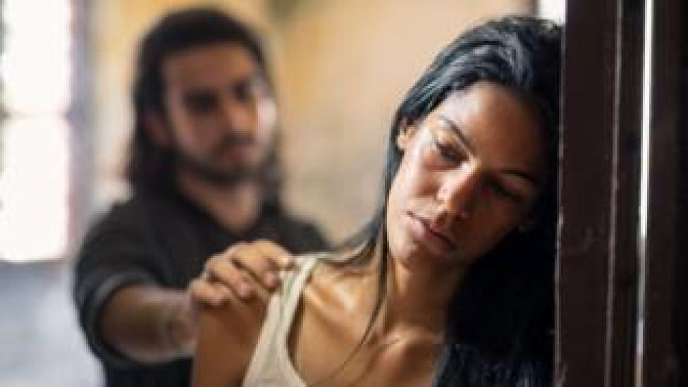 Domestic violence with young husband trying to reconcile with abused wife
