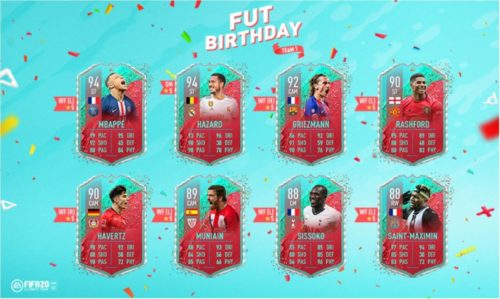 fut birthday fifa 20 team 1 revealed 1