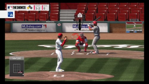 Pitching practice MLB The Show 20