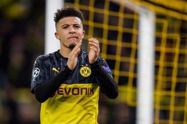 Jadon Sancho is set to join Manchester Untied this summer (Picture: Getty)