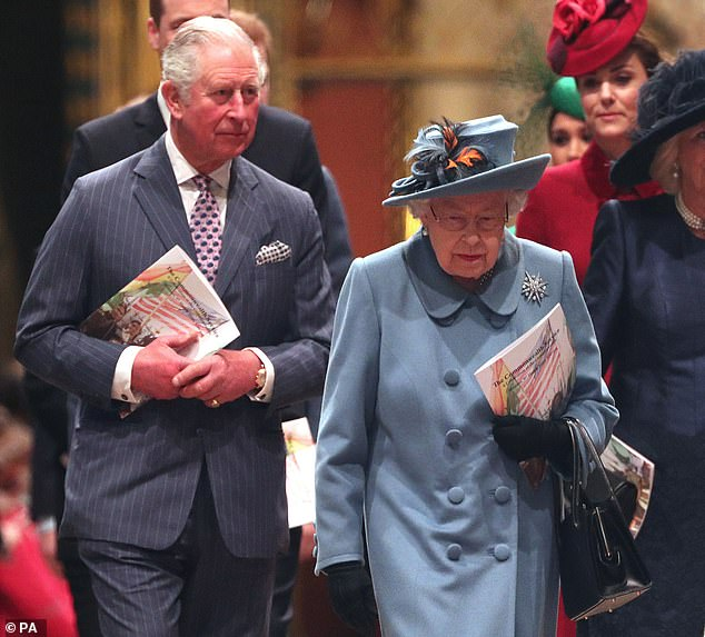 Prince Charles, pictured with the Queen on March 9, has been diagnosed with the coronavirus